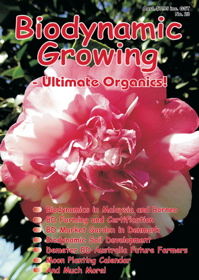 Biodynamic Growing Magazine issue number 23