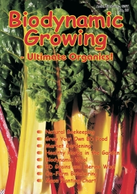 Biodynamic Growing Magazine issue number 26